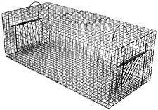 "Double Door Rigid Pigeon Live Bird Trap (36"" x 16"" x 12"")"