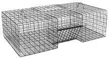 "Single Door - Extra Large Rigid Pigeon Bird Live Trap (42"" x 24"" x 12"")"