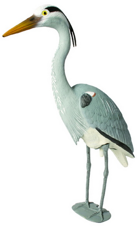 Standing Blue Heron Decoy by Aquascape