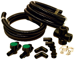 Aquascape AquaBasin 3 Piece Plumbing Kit for multible fountains LARGE