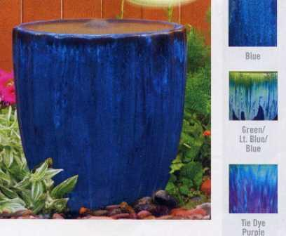 Aquascape Ceramic - Vertical Grooved Ceramic Bubblers for Gardens & Displays