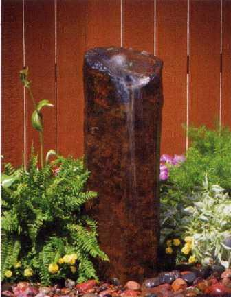 "Aquascape - Natural Mongolian Basalt Columns for Custom Water Features (24"", 30"", 36"")"