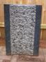 Aquascape - Grooved Natural Black Stone Water Fountain for Custom Water Features_SWATCH
