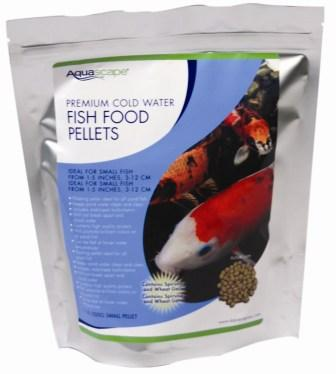 Premium Cold Water Fish Food Pellets by Aquascape