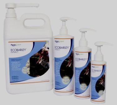 Aquascape EcoBarley Liquid Extract for Algae Control in Water Gardens & Ponds in New Pump Bottles THUMBNAIL