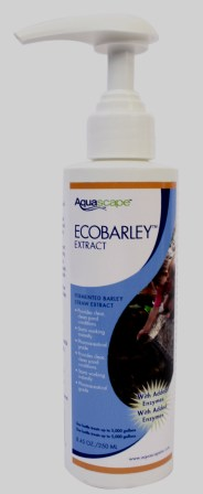Aquascape EcoBarley Liquid Extract for Algae Control in Water Gardens & Ponds in New Pump Bottles
