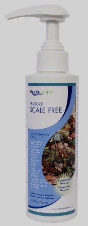 New - Aquascape Feature Scale Free 8.5 oz (for fountains & bird baths, etc.)