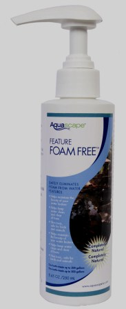 New - Aquascape Feature Foam Free 8.5 oz (for fountains & bird baths, etc.)_THUMBNAIL