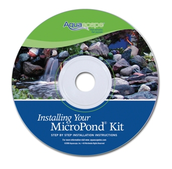 Installing Your MicroPond Kit - Instructional Aquascape Water Garden & Pond  DVD_THUMBNAIL