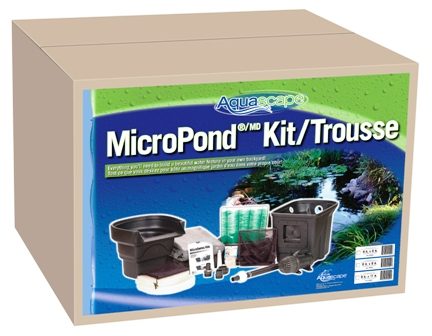 Small 8' x 11' Complete Aquascape Pro-Fit Water Garden Pond Kit THUMBNAIL