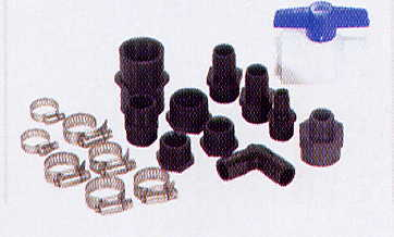 Aquascape Universal Water Garden, Fountain, & Pond Pump Installation Hardware & Fittings Kit MAIN