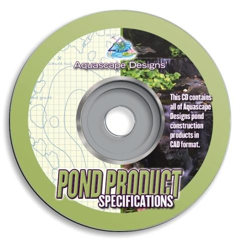 Aquascape Landscape Architect CD with Completed CAD Drawings_THUMBNAIL