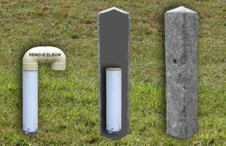 Createk Stone - Septic Cover with Vent (SC-1) - Realistic Looking Faux Granite Stone