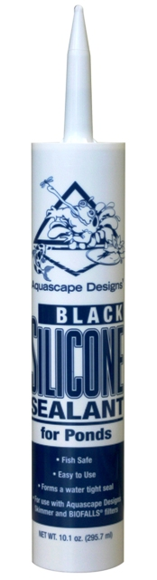 Aquascape Black Fish Safe Silicone Sealant for Water Garden & Pond Use THUMBNAIL