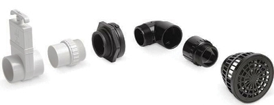 Bottom Drain Kit for Liner Ponds by Atlantic Water Gardens LARGE