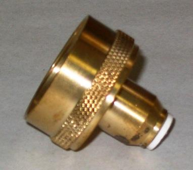 "Brass Quick Connect Water Spigot Fitting for Aquascape 1/2"" Hudson Automatic Water Fill Valve"