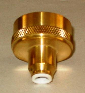 "Brass Quick Connect Water Spigot Fitting for Aquascape 1/2"" Hudson Automatic Water Fill Valve THUMBNAIL"
