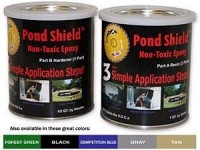 Pond Armor Non-Toxic Epoxy Liner for Pond, Pools, & Water Gardens MAIN