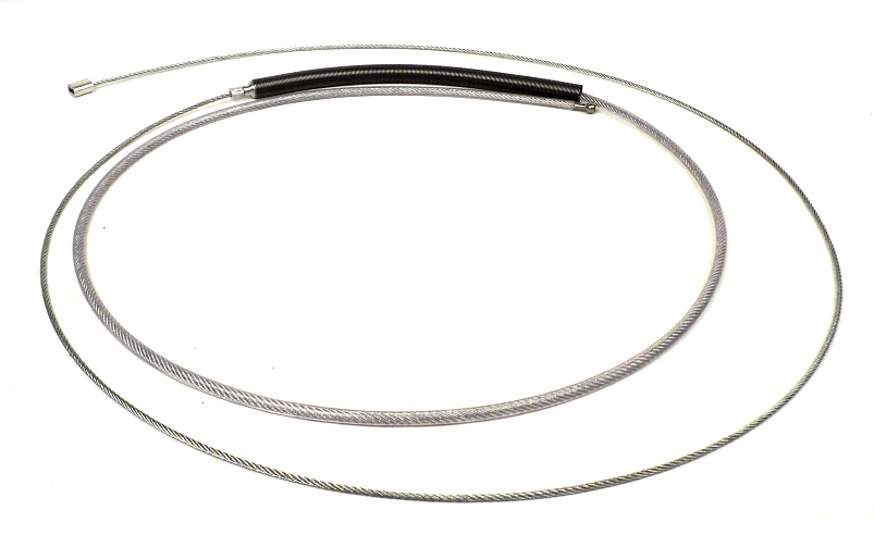 "Standard Animal Control Pole Replacement Parts - 28"" Cable Assembly_LARGE"