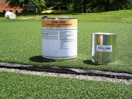STA-1000 Two-Part Flexible Synthetic Turf Polyurethane Seam Adhesive / Glue - Colored: Turf Green_THUMBNAIL