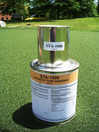 STA-1000 Two-Part Flexible Synthetic Turf Polyurethane Seam Adhesive / Glue - Colored: Turf Green