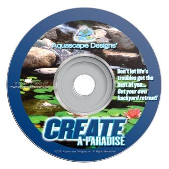 Aquascape Productions - Create A Paradise - Water Garden & Pond DVD_THUMBNAIL