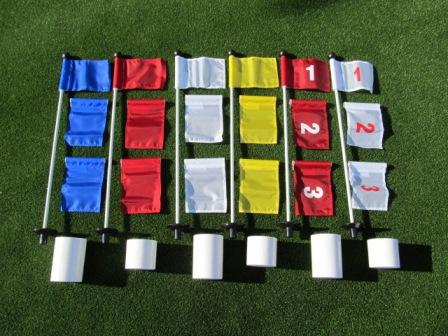 Deluxe Practice Putting Green Accessory Kits - For Golf & Putting Green Applications THUMBNAIL