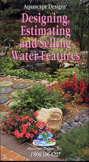 Clearance - Designing, Estimating, & Selling Water Features by Aquascape Designs MAIN