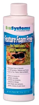 Aquascape EcoSystems Feature Foam Free 8 oz (for fountains & bird baths, etc.)_THUMBNAIL