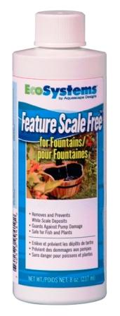 Aquascape EcoSystems Feature Scale Free 8 oz (for fountains & bird baths, etc.)