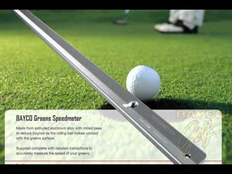 Official Aluminum  Greenspeed Regulation Stimpmeter for Golf & Putting Greens LARGE