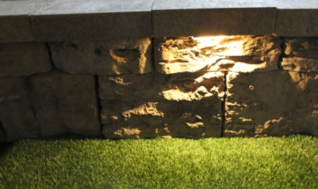 Wall Eye II - 12 volt WARM LED Low-Voltage Landscape Light for Wall, Stair & Column Illumination