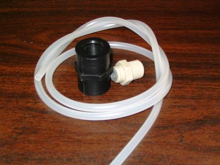"Irrigation Conversion Kit (1/2"" to 1/4"") for Aquascape 1/2"" Hudson Automatic Water Fill Valve LARGE"