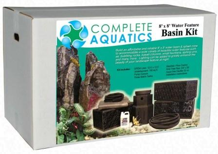 8' x 8' Complete Aquatics Basin Kit THUMBNAIL