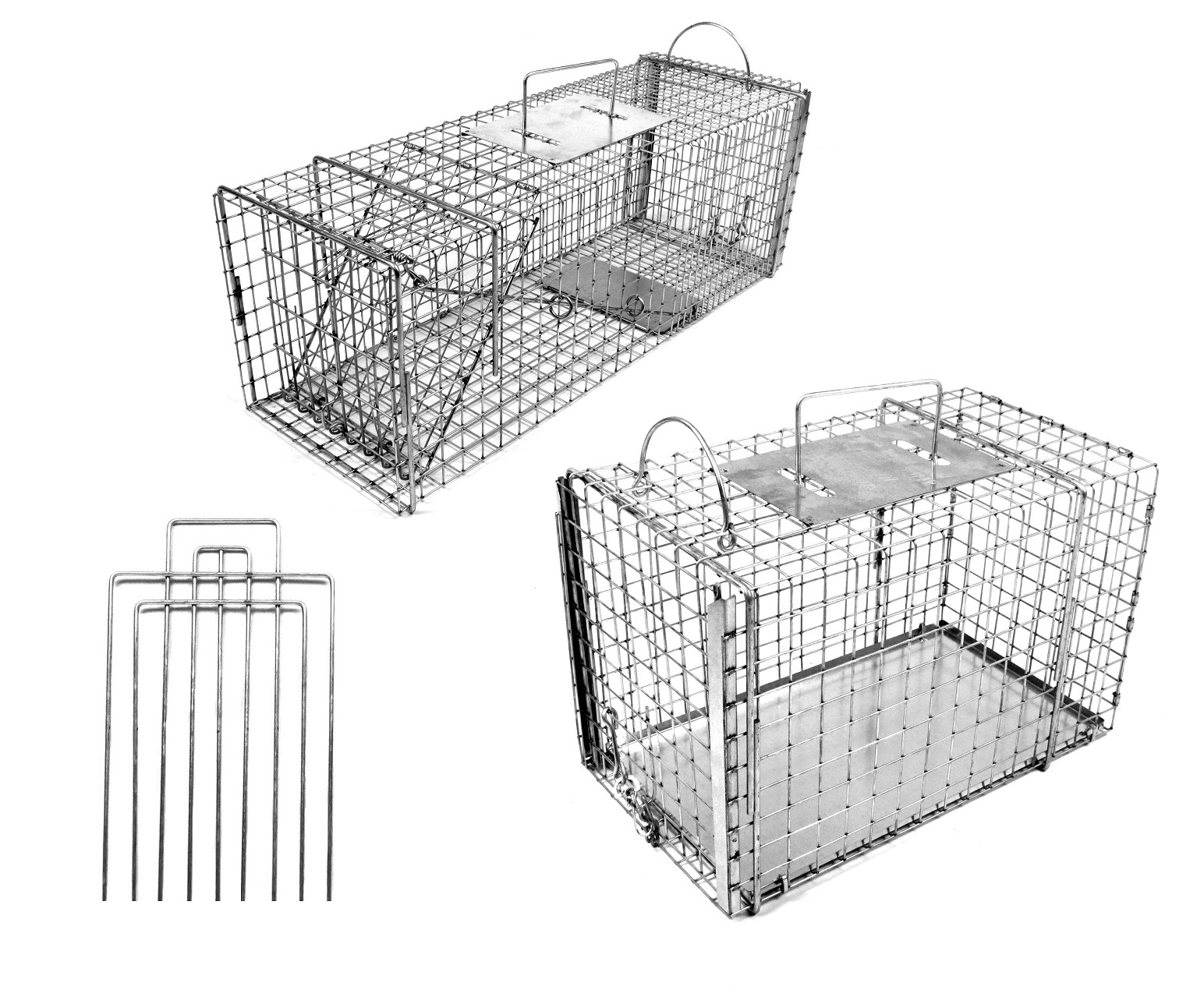 "Small/Medium 26"" Trap-Neuter-Return Neighborhood Cat Animal Trap Kit with Divider THUMBNAIL"
