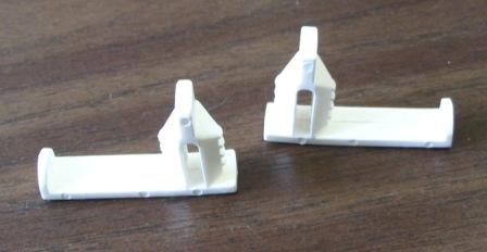 Kerr Lighting Replacement Hold Down Tabs - Pair of Two