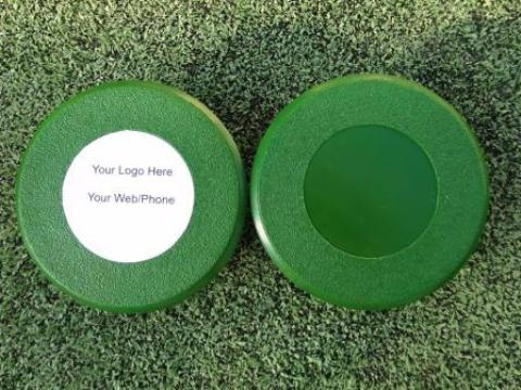 "Customizable Flush Mount Golf Hole Cup Covers for all PGA & USGA Regulation 4"" & 6"" Deep Cups THUMBNAIL"