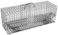 "Multiple Catch Animal Trap with Extra Large Holding Area - Small Rodent Size (24"" x 8"" x 8"")"