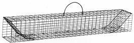 "Multiple Catch Animal Trap with Two Trap Doors - Medium Rodent Size (30"" x 4"" x 4"") MAIN"