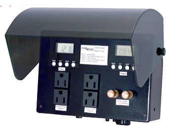 Cal Pump Power Control Center  for Underwater & Landscape Lighting THUMBNAIL