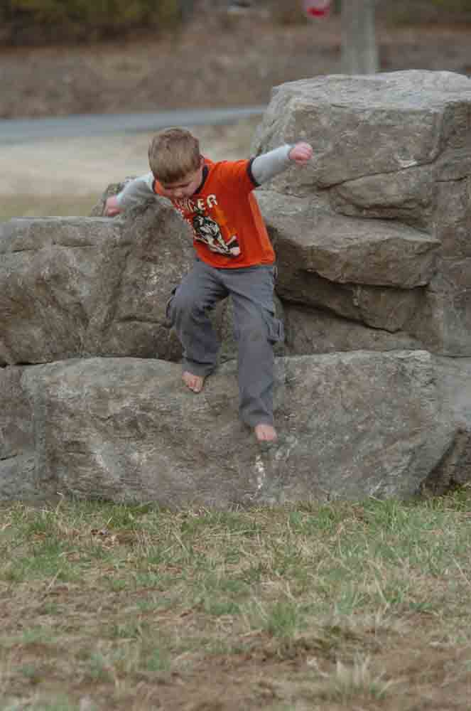 Medium Playground & Climbing Boulder for Schools & Parks_LARGE