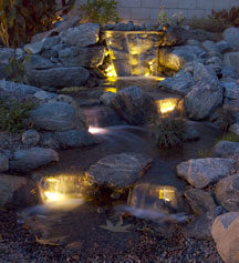 Pond /Stream/Water Garden Lights & Transformers