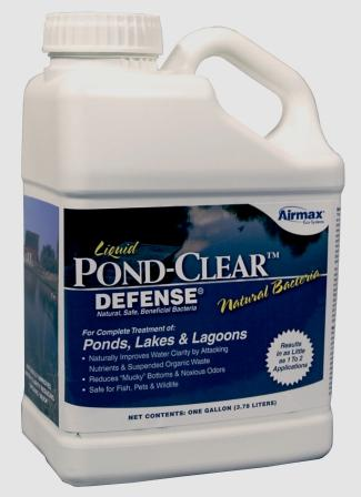 Pond-Clear Liquid (Gallon) Benificial Bacteria for Ponds & Lakes
