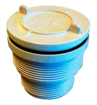 "Aquascape 2"" Pressure Relief Valve (Requires 2"" Bulkhead Fitting) For Water Gardens & Ponds MAIN"