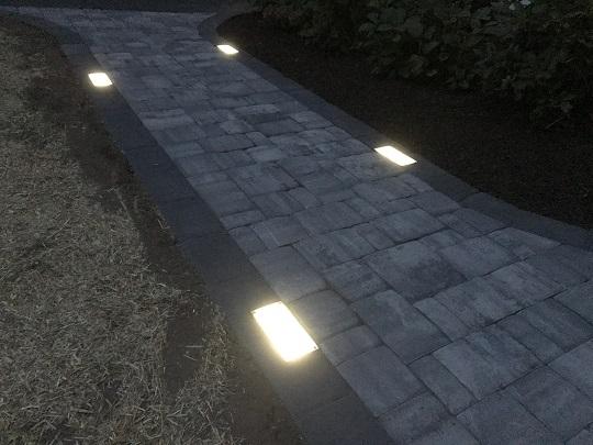 Solar Brick Paver Light