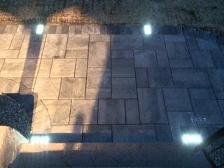 solar brick light