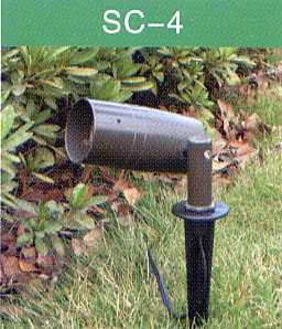Directional Lighting - Die Cast Aluminum - Low Voltage 12 Volt Landscape Fixture - SC-4
