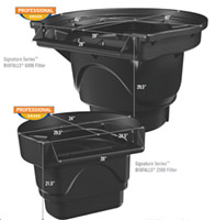 Aquascape Signature Series BIOFALLS Waterfall  & Biological Pond Filters (UPS'able)