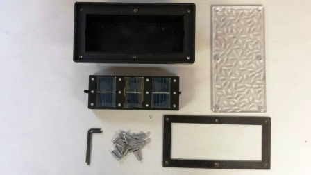 Replacement Parts for our 4 inch x 8 inch Solar Brick Paver Landscape Lights