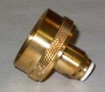 "Brass Quick Connect Water Spigot Fitting for Aquascape 1/2"" Hudson Automatic Water Fill Valve Mini-Thumbnail"